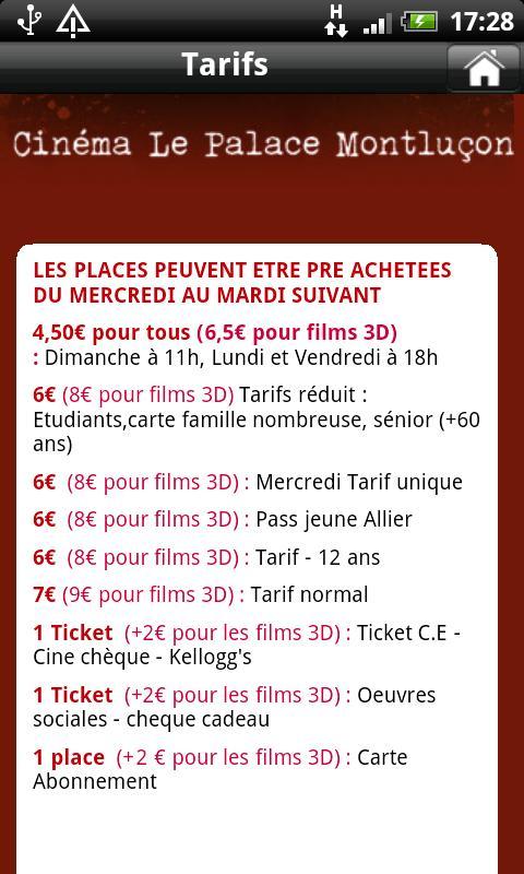 Cinéma Le Palace Montluçon- screenshot