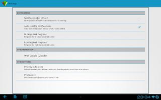 Screenshot of GeoTask - Location-Based Tasks