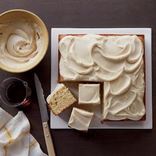 Maple Cake.