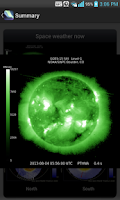 Screenshot of Aurora Forecast