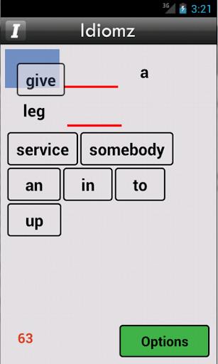 Word Puzzle of Idioms Lite