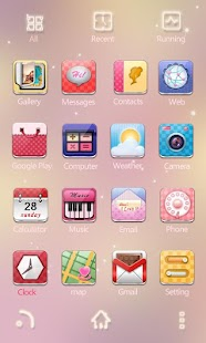 T-TheGirls GO Launcher Theme - screenshot thumbnail