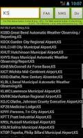 Screenshot of Airport Status and Weather