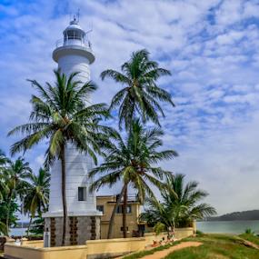 Galle Lighthouse by Kavindu Anthony - Buildings & Architecture Public & Historical ( galle, 1934, galle fort, lighthouse, sri lanka, unesco, galle lighthouse, ancient, light station, srilankan, 1848, lanka, sri lanka ports authority. )