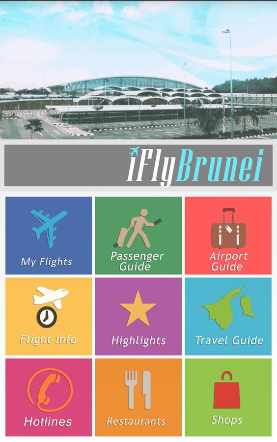 iFlyBrunei- screenshot