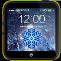 Snow Christmas Lock Screen icon