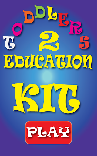 Toddlers Kids Education Kit 2