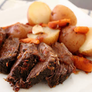 The Quintessential Slow-Cooker Pot Roast.
