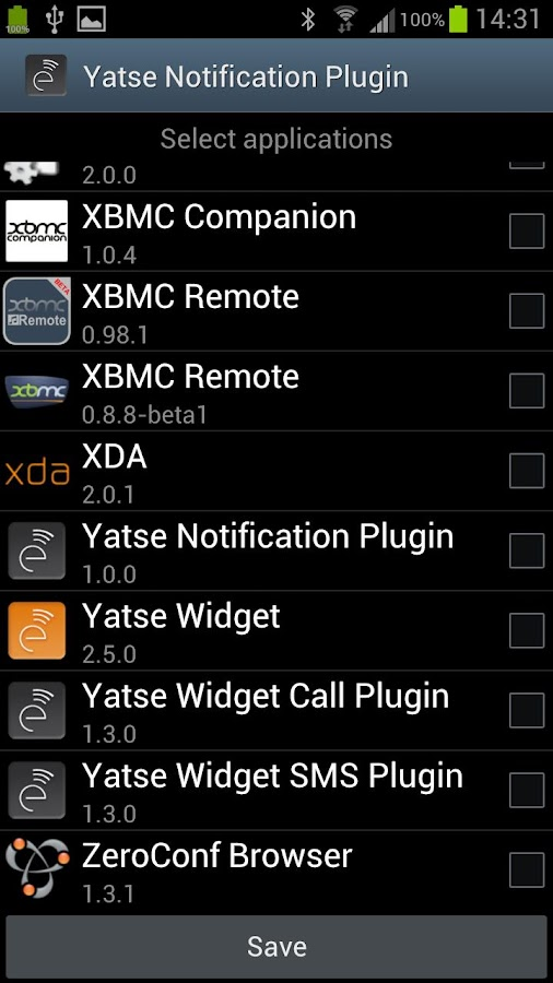 Yatse Notification Plugin - screenshot