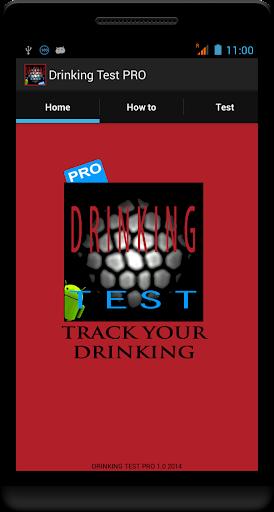 DRINKING TEST PRO