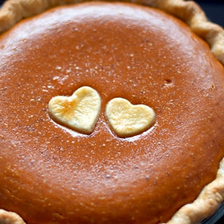 Old Fashioned Pumpkin Pie with Bourbon Whipped Cream