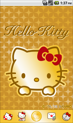 Hello Kitty Gold Plating