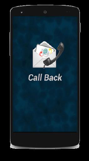 CallBack MY