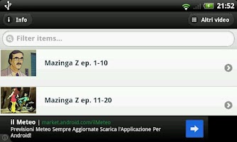 Screenshot of Mazinga Z