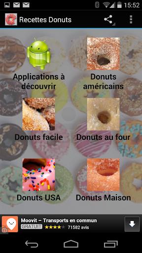 Recettes de Donuts