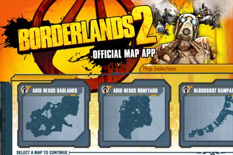 Borderlands 2 Official Map App- screenshot