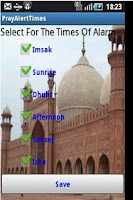 Screenshot of Prayer Times Alert