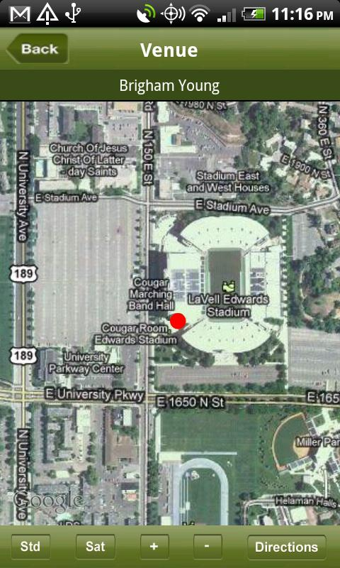 rVenues NCAA Football Stadiums- screenshot
