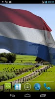 Screenshot of 3D Netherlands Flag LWP