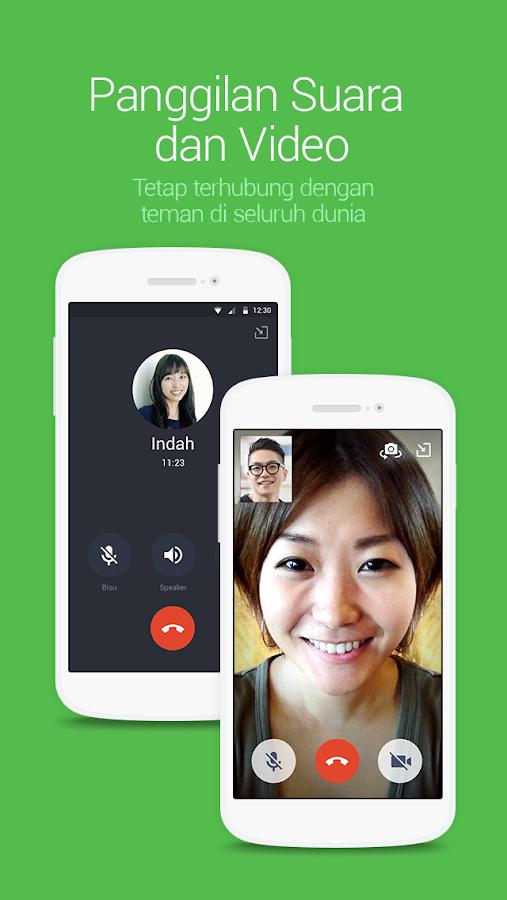 Instal 3 Line Messenger