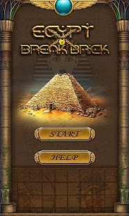 Egypt Break Brick - screenshot thumbnail