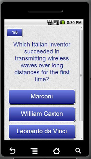 Technological Invention quiz