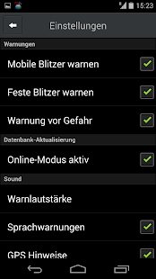 CamSam - Der Blitzerwarner – Miniaturansicht des Screenshots