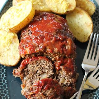 Gluten Free Italian Meatloaf.