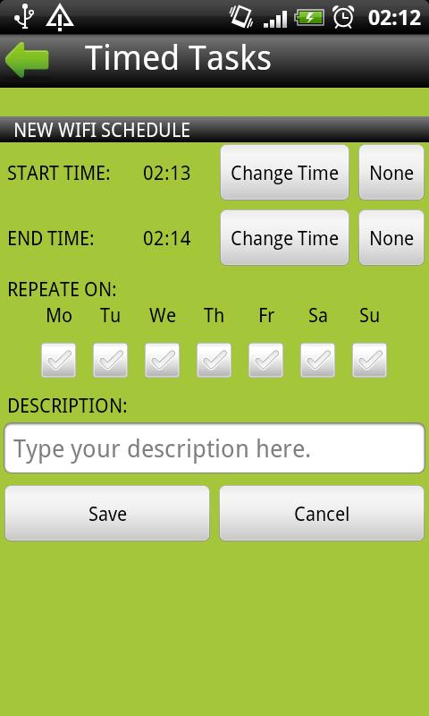Timed Tasks Free- screenshot