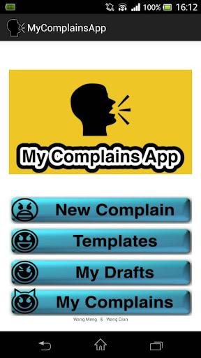 My Complains App