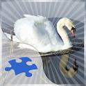 Swans Jigsaw Puzzle logo