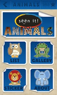 Seen It! Animals (Lite) - screenshot thumbnail