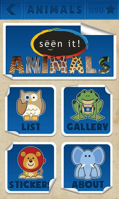 Seen It! Animals (Lite) - screenshot
