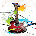 Musical Electric Guitar LWP logo