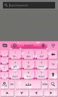玩個人化App|可愛的粉紅色鍵盤免費|APP試玩