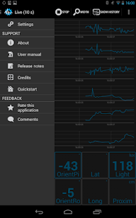 Sensors Toolbox - SenseView- screenshot thumbnail