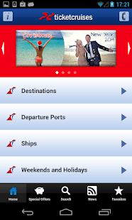 Ticketcarnival - Cruises- screenshot thumbnail