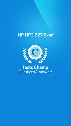 HP2-Z27 Exam Quick Assessment