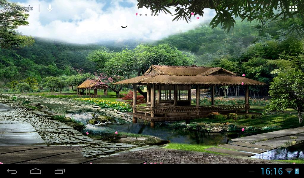 Japanese garden 3d - screenshot
