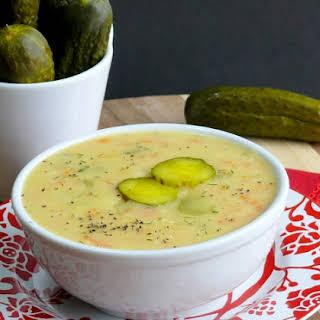 Cream Dill Pickle Soup Recipes.