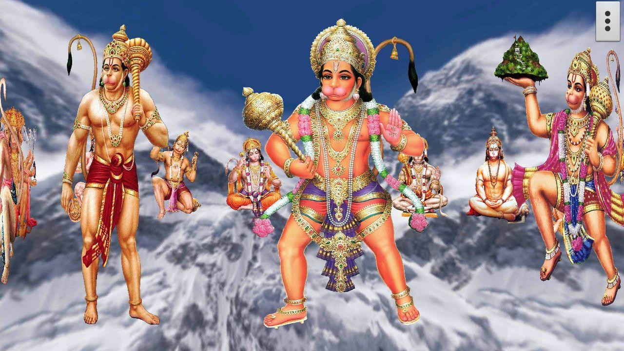 4d hanuman live wallpaper android apps on google play