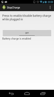 StopCharge BETA (Nexus 4)- screenshot thumbnail