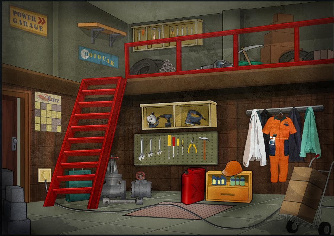 escape games garage escape android apps on google play. Black Bedroom Furniture Sets. Home Design Ideas