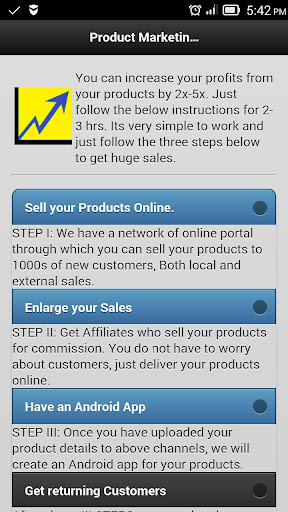 Product Marketing Online