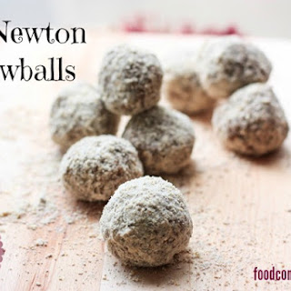 No-Bake Fig Newton Snowballs