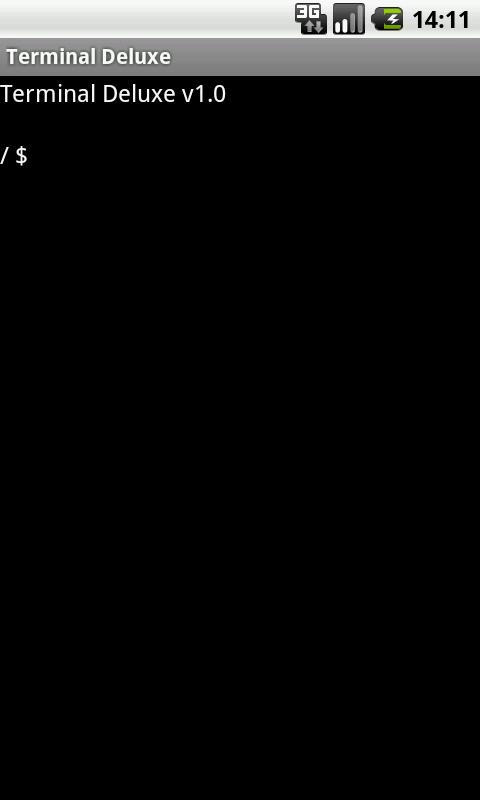 Terminal Emulator - screenshot