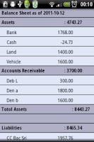 Screenshot of AZZURRA Financial Accounting F