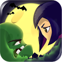 Girl vs Zombie Run Game icon