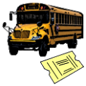 Bus Ticket Number (English) icon
