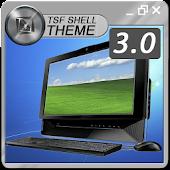 TSF Shell HD Theme Desktop PC